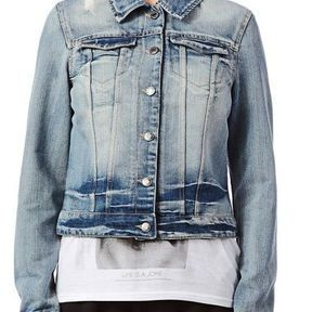 Veste en jean courte Noisy May 2014