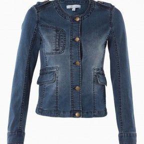 Veste en jean fashion 27 Quai de Seine 2014