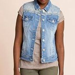 Veste en jean fille C&A 2014