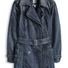Veste en jean longue Esprit 2014