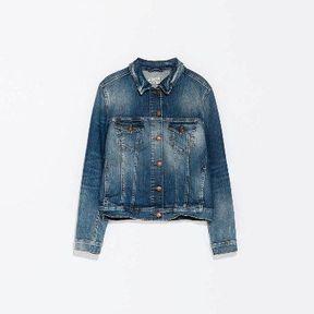Veste en jean mode Zara 2014