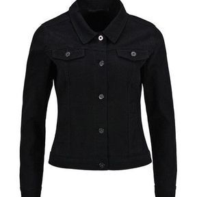 Veste jean noir femme Lafayette Collection 2014