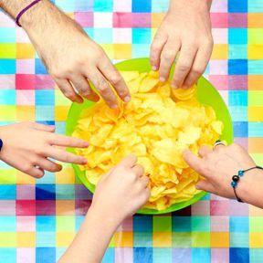 Les chips et snacks industriels
