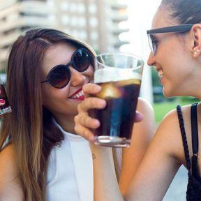 Les sodas et eaux aromatisées