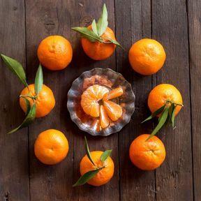 Clémentines, oranges et mandarines