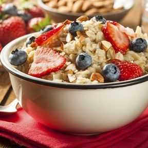 Céréales pour petit déjeuner aux fruits
