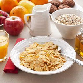 Céréales pour petit déjeuner nature