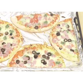 Astuce pour cuire deux pizzas sur une même plaque