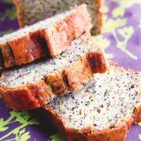 Cake de p'tit dej' au citron et au pavot... et aussi à la courgette