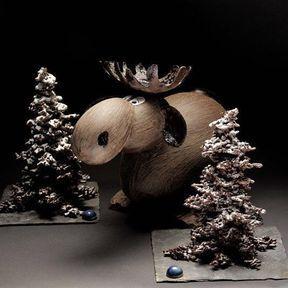 Elans et Sapin de Noël, tout chocolat - de Patrick Roger
