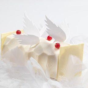 La bûche Ange de Sébastien Bouillet