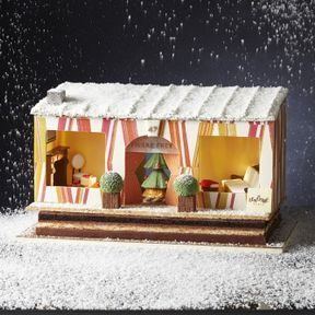 Bûche de Noël 2014 Pierre Frey & Lenôtre