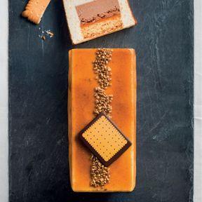 La bûche pâtissière au petit-beurre 2014, Monoprix Gourmet