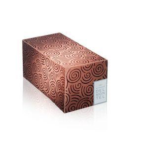 """Bûche """"Sophistication chocola'thé"""" 2014, d'Arnaud Delmontel"""