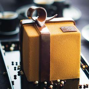 Le Cadeau Poire Caramel, création Philippe Segond chez Monoprix