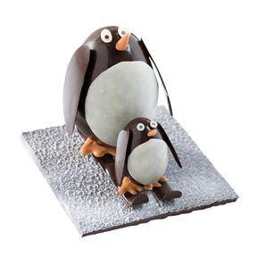 """""""Papa et bébé pingouins font du ski"""" 2017, Maison Fouquet"""