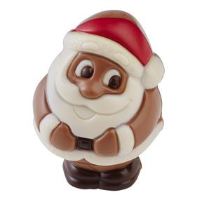 Père Noël en Chocolat Belfine, Monoprix