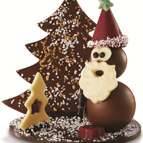 Père Noël Etincelant, Réauté chocolat