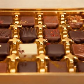 Bonbons de chocolat Vs chocolat
