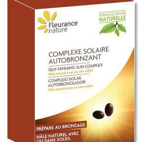 Complexe solaire autobronzant, Fleurance Nature
