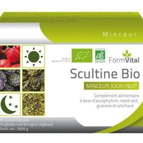 Scultine Bio, pour maigrir le jour et la nuit (2016)