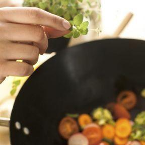 Le wok, roi de la cuisine diététique