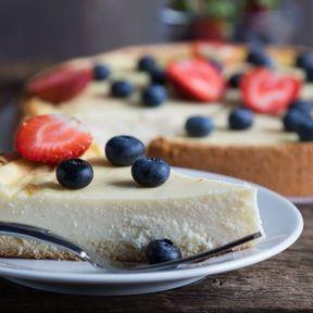 Un cheesecake léger