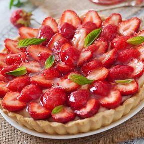 N°10 : la tarte aux fraises
