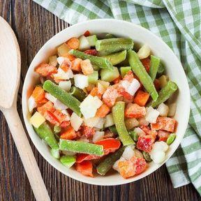 La poêlée de légumes surgelée
