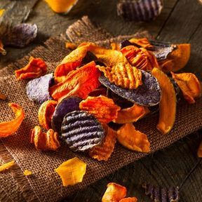 Les chips de légumes