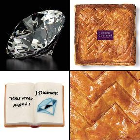 Galette au miel de lavande de Provence 2016, Monoprix Gourmet