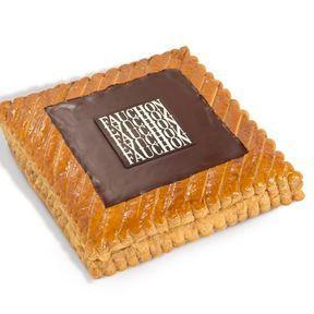 Galette chocolat-noisettes de Fauchon