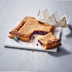 La galette crème de marron-cassis 2018 de Picard