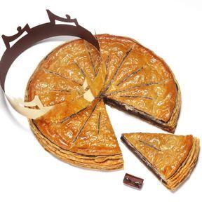La galette des rois au chocolat 2019, La Maison du chocolat