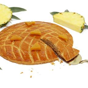 La galette exotique ananas/coco 2019, Foucade