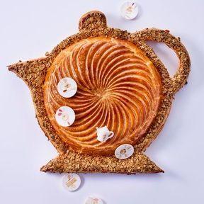 """La galette """"l'heure du goûter"""" 2017 de Lenôtre"""