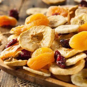 Les fruits séchés