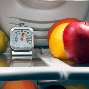 Vérifier la température de son frigo