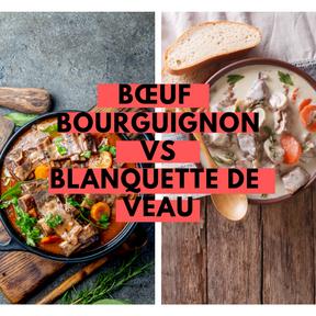 Calories : Bœuf bourguignon vs blanquette de veau