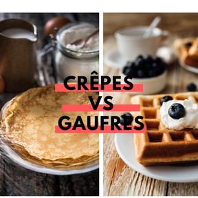 Calories : Crêpe vs gaufre