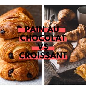 Calories : Pain au chocolat vs croissant