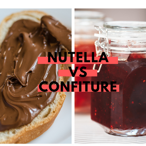 Calories :Nutella vs confiture