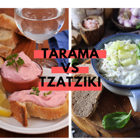 Calories : Tarama vs Tzatziki