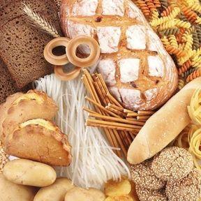 Le pain, les pâtes, les pommes de terre...