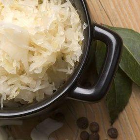 Chou fermenté ou choucroute