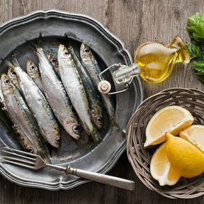 Les sardines à l'huile