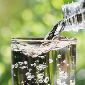 Les eaux de source ou minérales fortement minéralisées