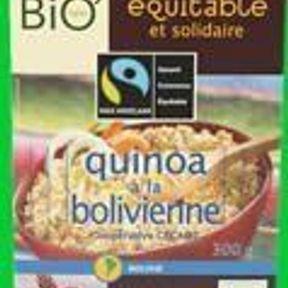 Quinoa à la Bolivienne - Jardin Bio équitable