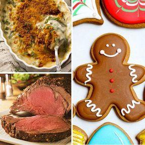 Repas de Noël aux Etats-Unis
