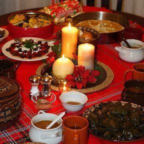 Repas de Noël en Bulgarie